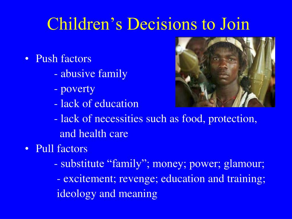 Children's Decisions to Join