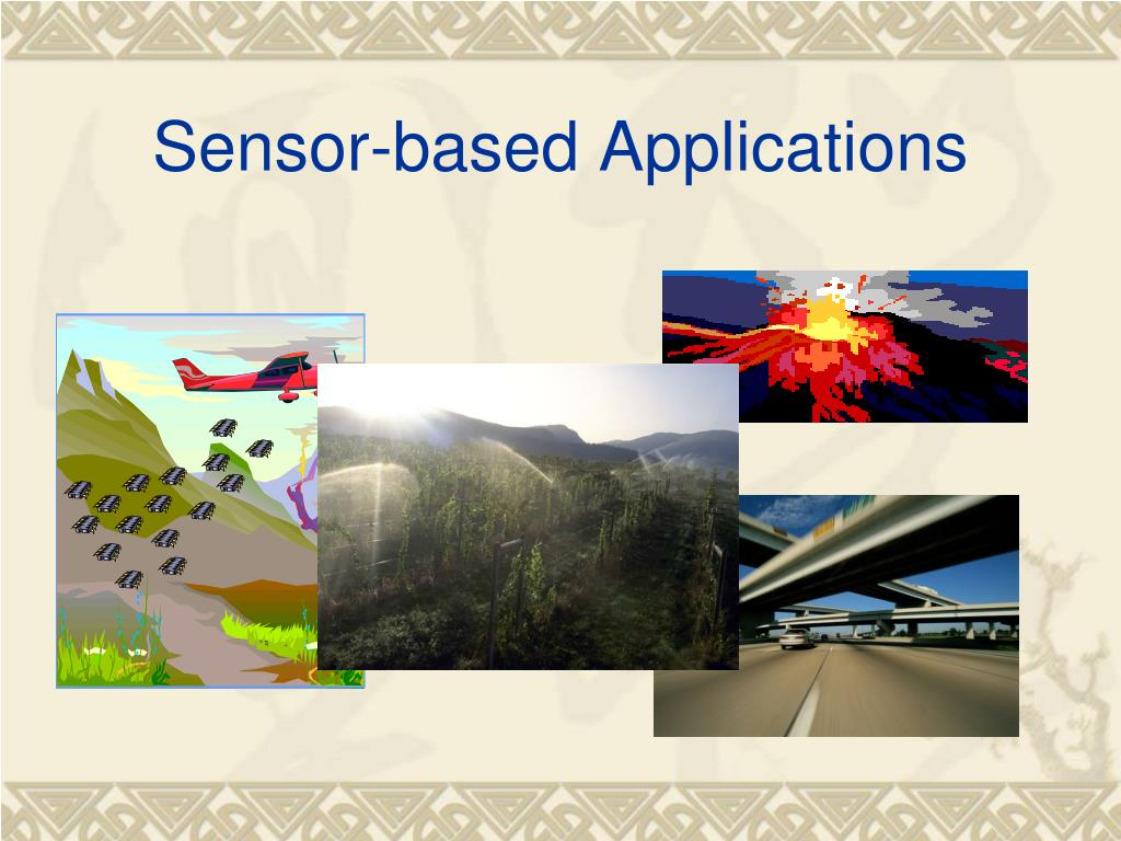 Sensor-based Applications