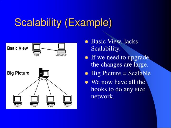 Scalability (Example)