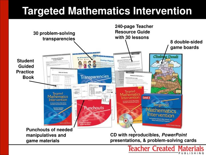 Targeted Mathematics Intervention