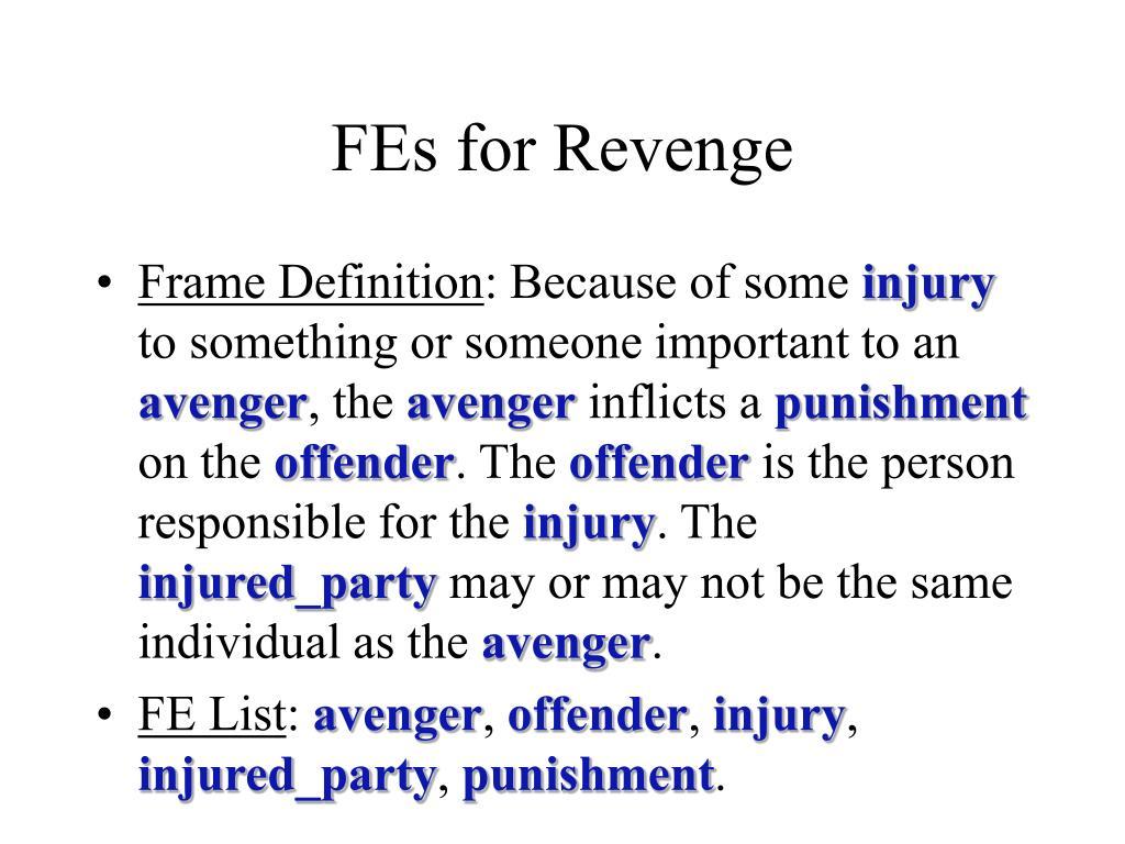 FEs for Revenge