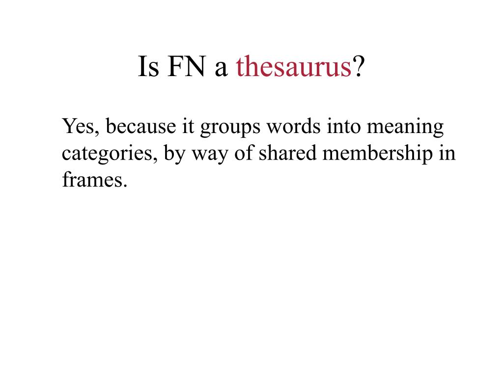Is FN a