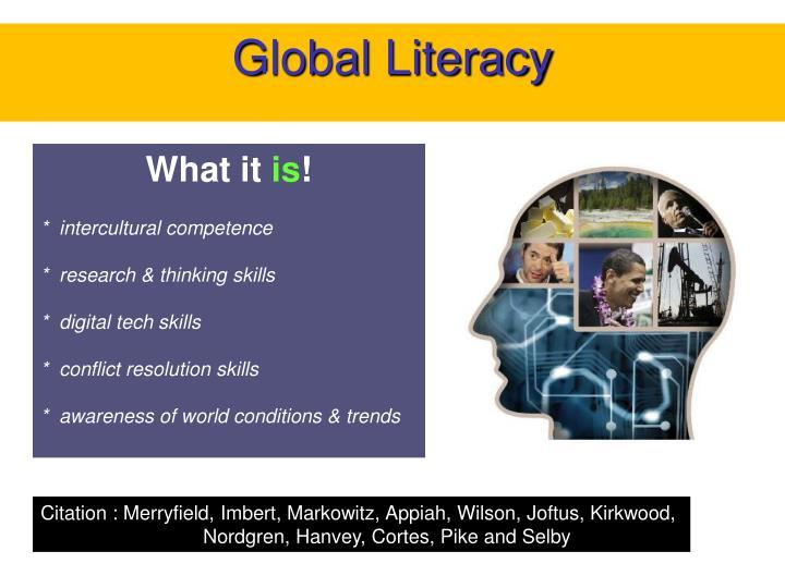 Global Literacy