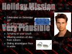 tom cruise day