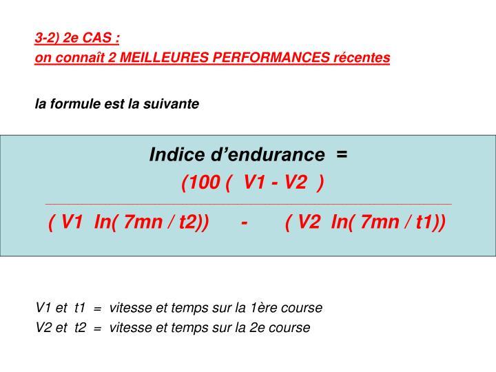 3-2) 2e CAS :