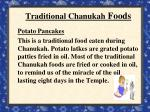 traditional chanukah foods