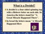 what is a dreidel