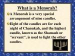 what is a menorah
