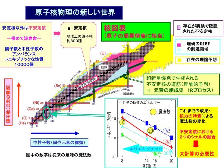 原子核物理の新しい世界