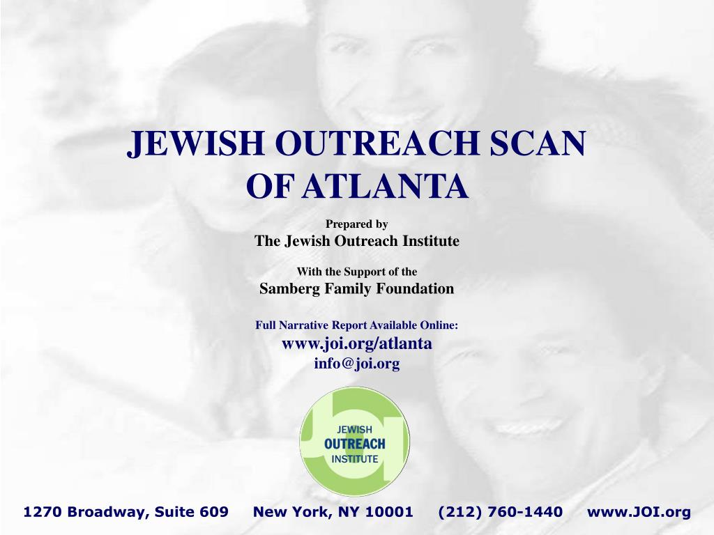 JEWISH OUTREACH SCAN