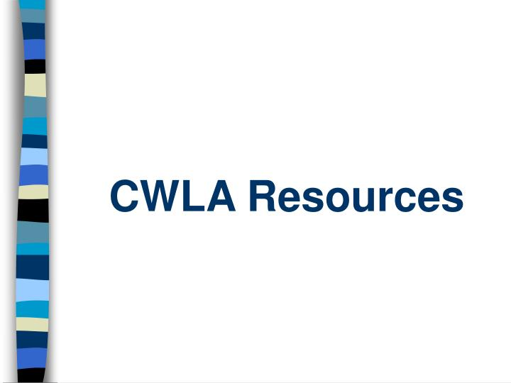 CWLA Resources