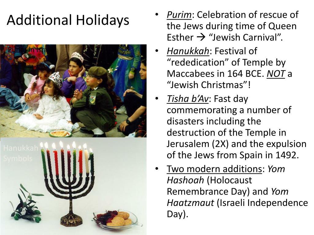 Additional Holidays