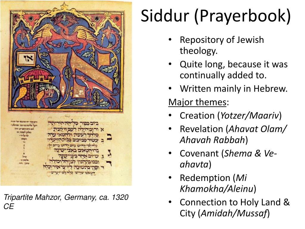 Siddur (Prayerbook)