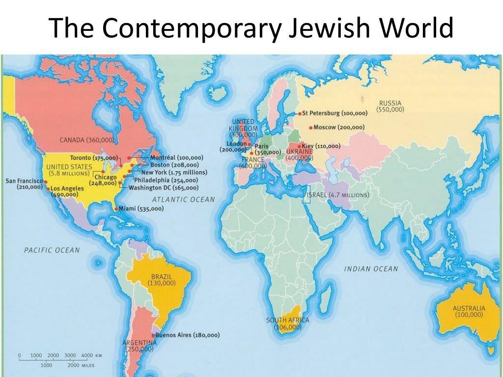 The Contemporary Jewish World
