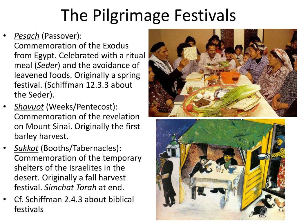 The Pilgrimage Festivals