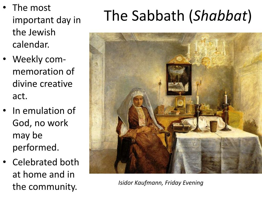 The Sabbath (