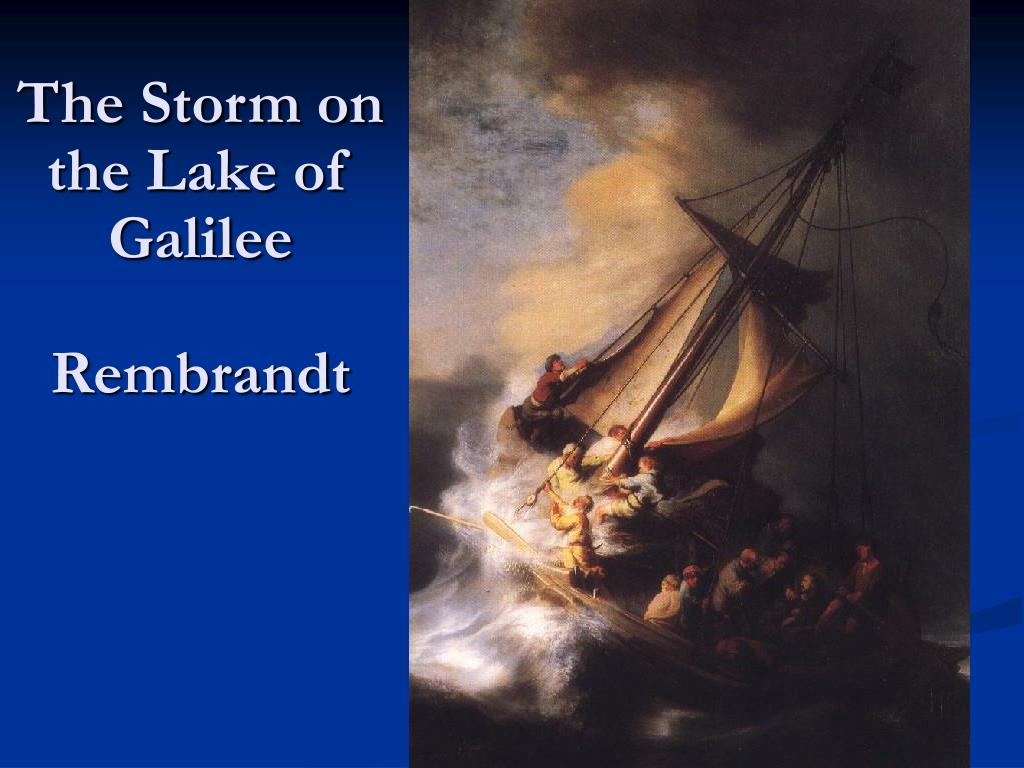 The Storm on the Lake of Galilee