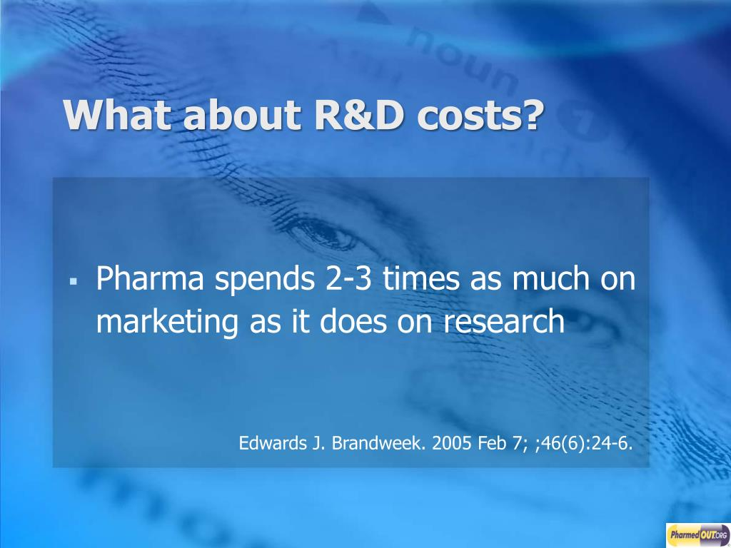 What about R&D costs?