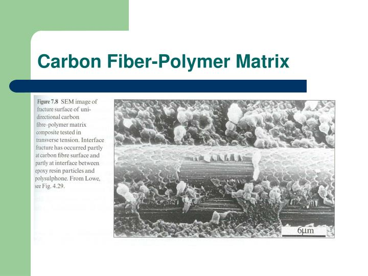 Carbon Fiber-Polymer Matrix