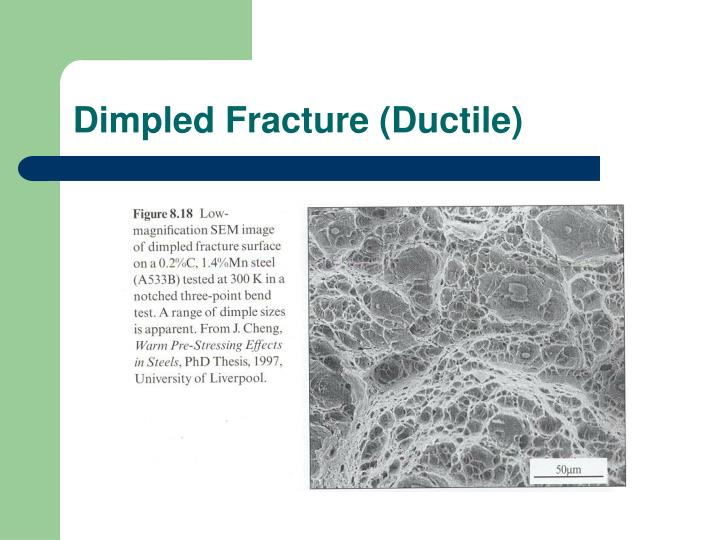 Dimpled Fracture (Ductile)