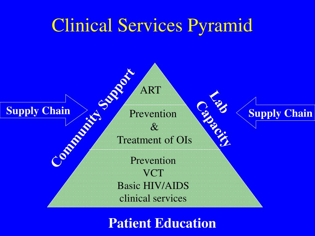 Clinical Services Pyramid