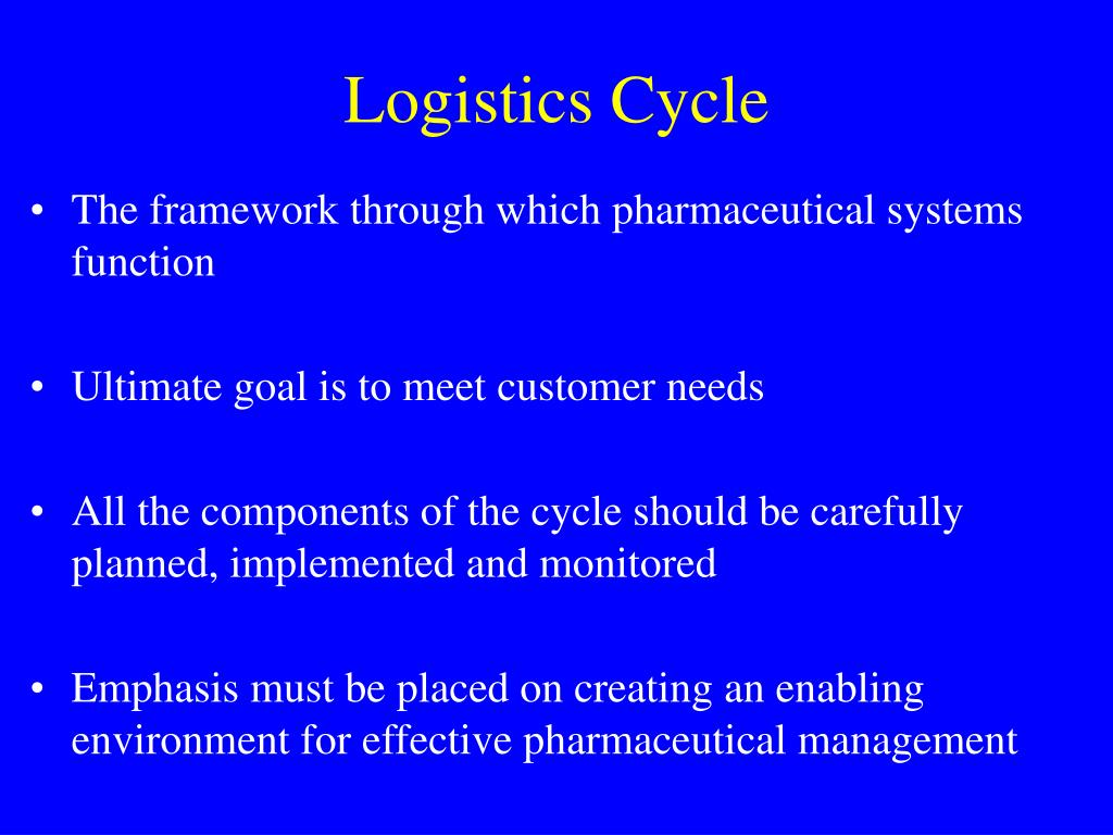 Logistics Cycle