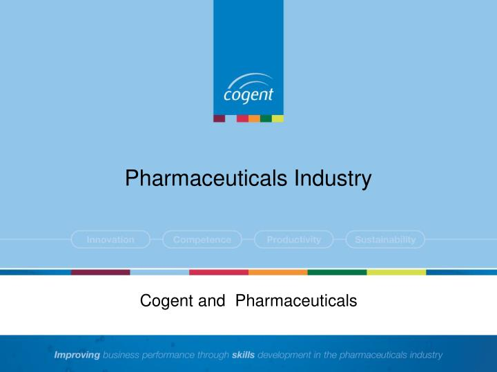 Pharmaceuticals industry