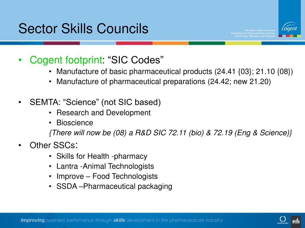 Sector Skills Councils