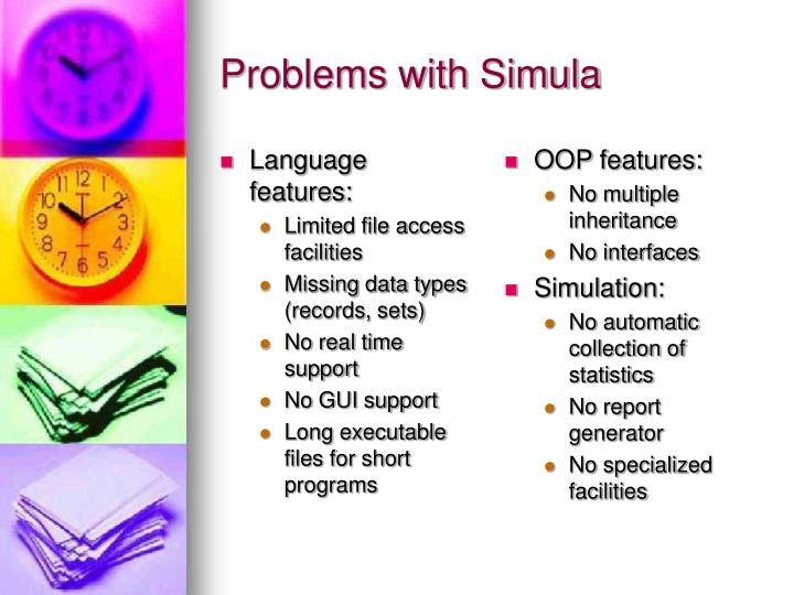 Language features: