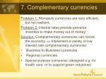7 complementary currencies