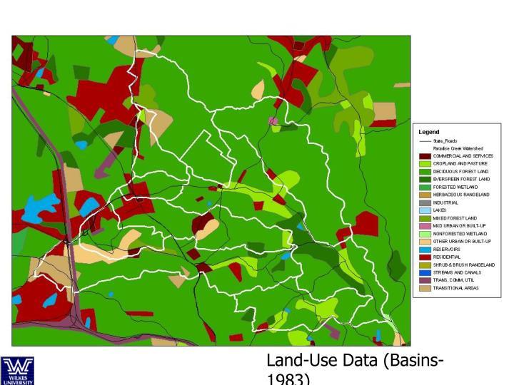 Land-Use Data (Basins- 1983)