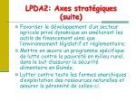 lpda2 axes strat giques suite1