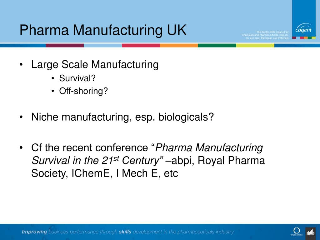 Pharma Manufacturing UK
