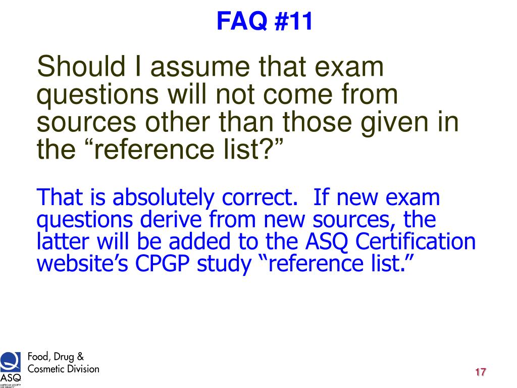 FAQ #11