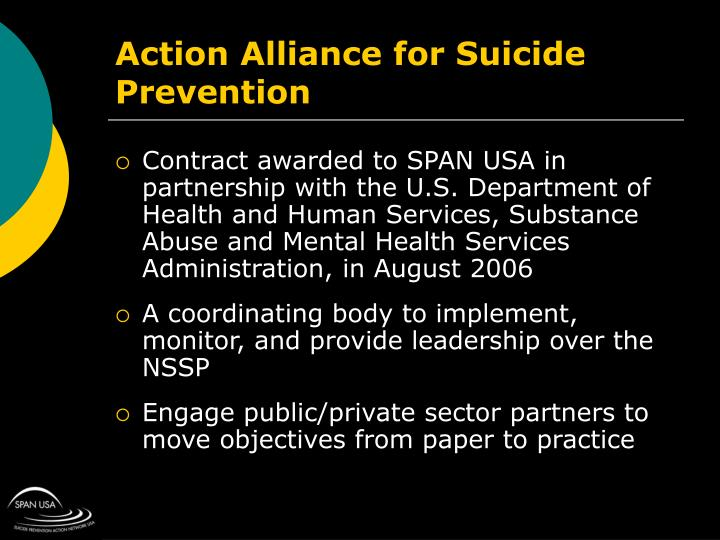Action Alliance for Suicide Prevention