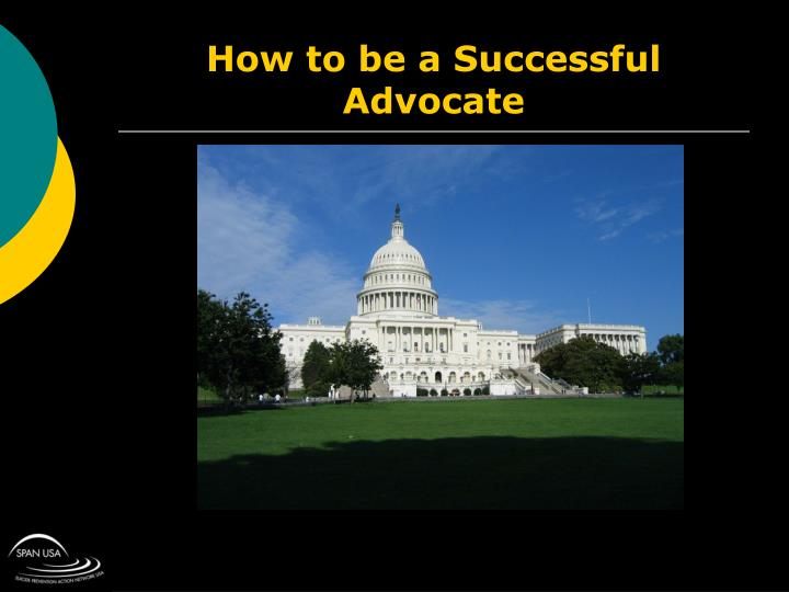 How to be a Successful Advocate