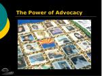 the power of advocacy1