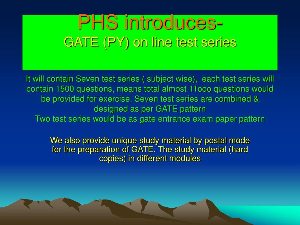 PHS introduces-