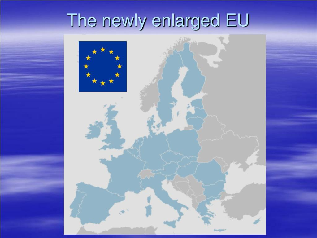 The newly enlarged EU