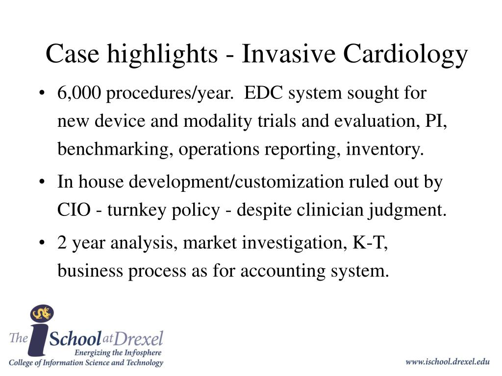 Case highlights - Invasive Cardiology