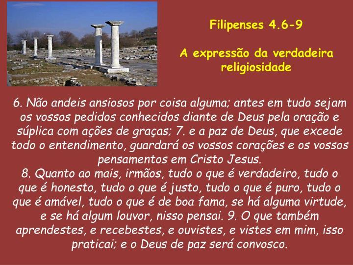 Filipenses 4.6-9