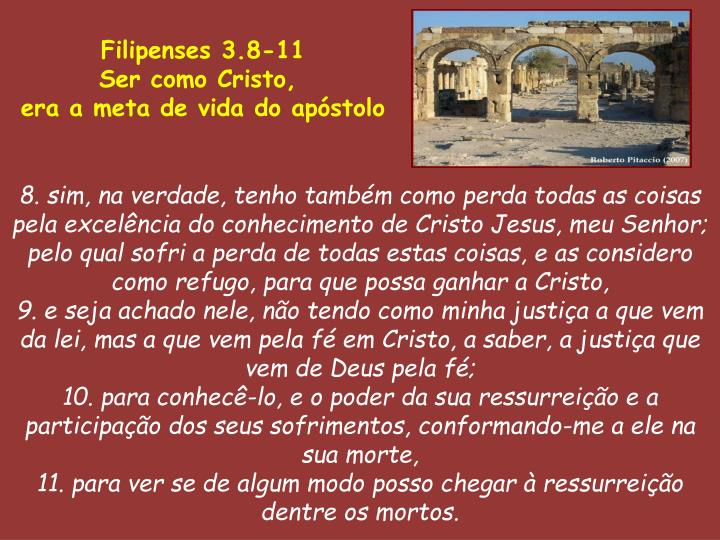 Filipenses 3.8-11