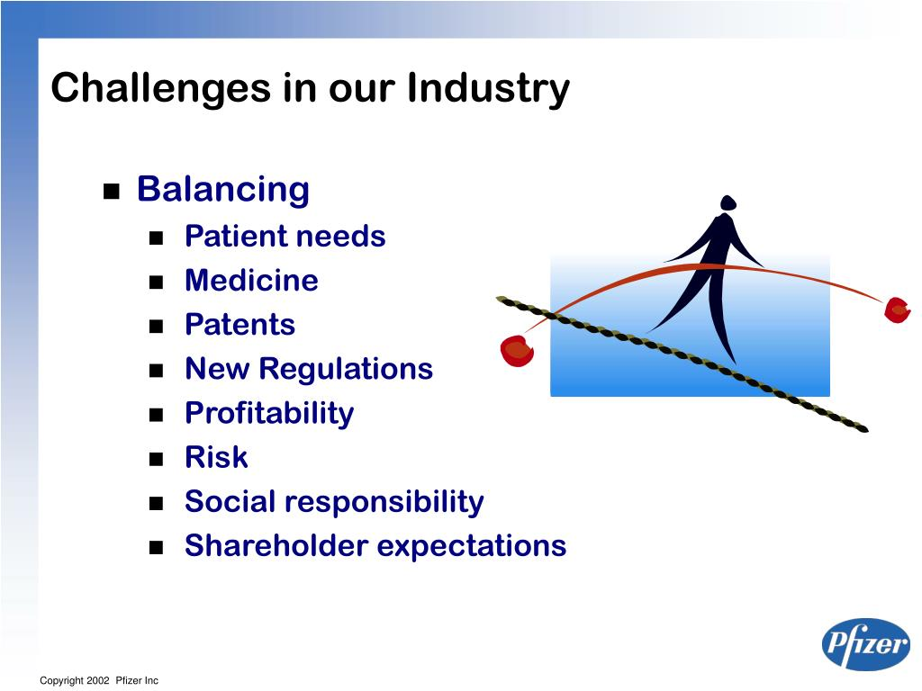 Challenges in our Industry