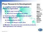 pfizer research development