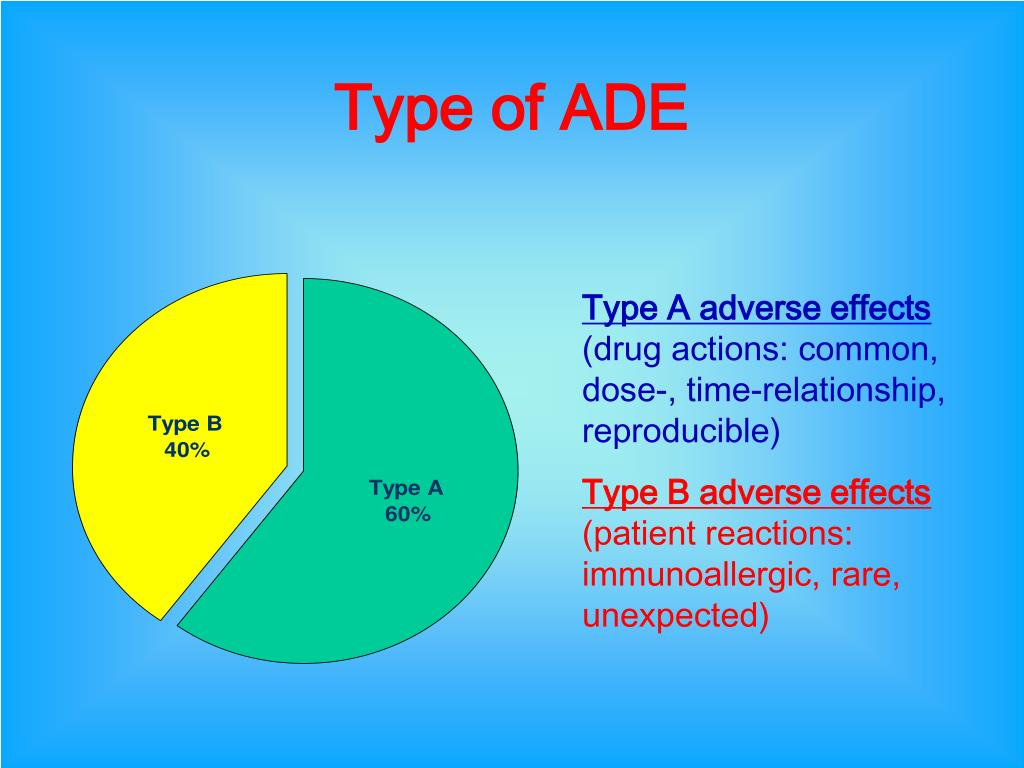 Type of ADE