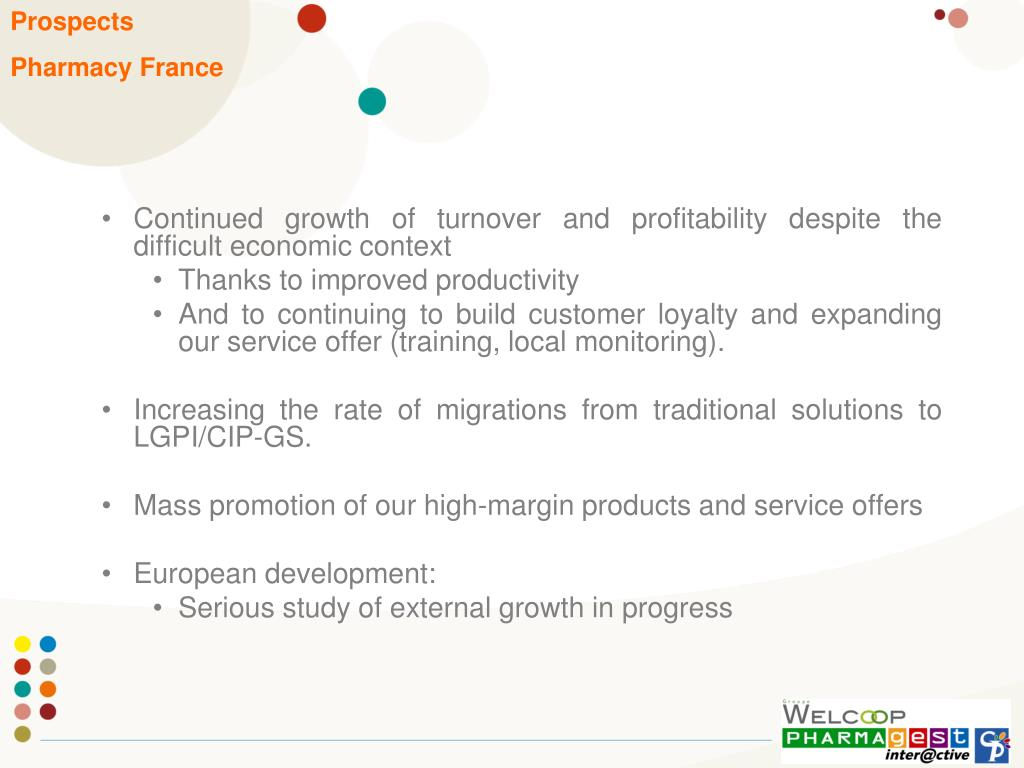 Continued growth of turnover and profitability despite the difficult economic context