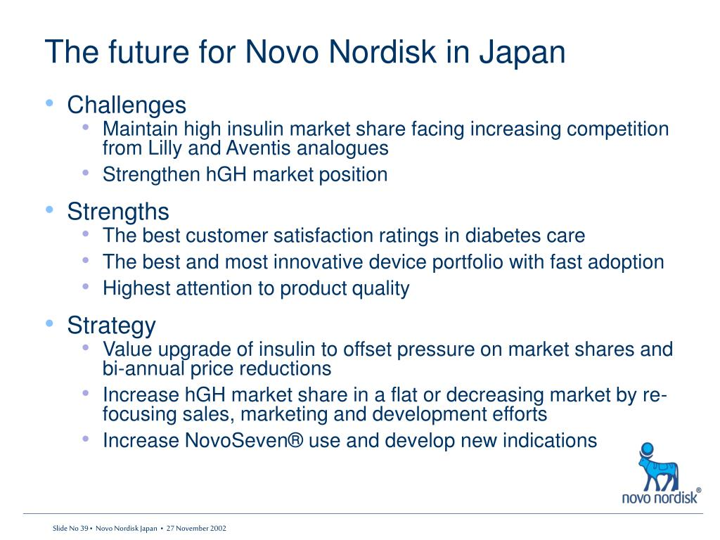The future for Novo Nordisk in Japan