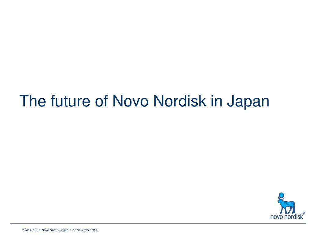 The future of Novo Nordisk in Japan