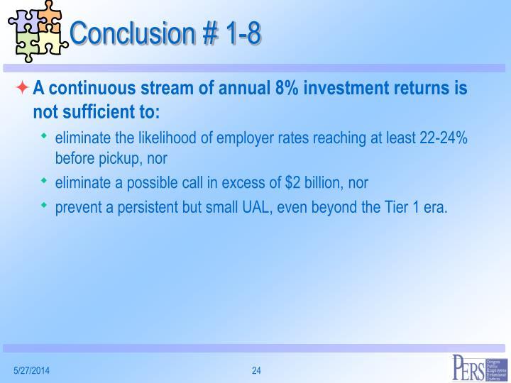 Conclusion # 1-8