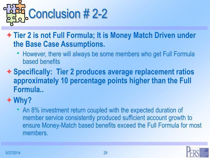 Conclusion # 2-2